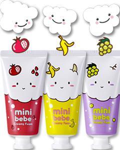 It's skin_mini bebe 寶貝泡泡洗面乳- 香蕉/葡萄/紅石榴