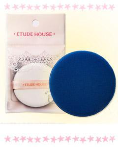 ETUDE HOUSE_超好推服服貼貼底妝粉撲 -進階藍色版