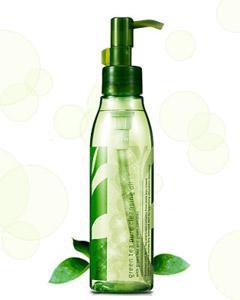 Innisfree_濟州島綠茶深層保濕卸妝油