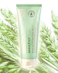 Innisfree _綠色大麥溫和卸妝果凍凝膠