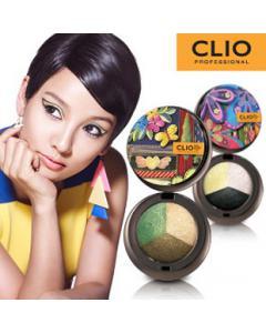 CLIO 珂莉奧_藝術三色眼影盒 附眼影刷