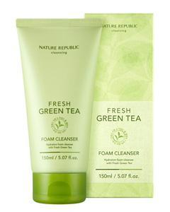 NATURE REPUBLIC_清新綠茶Fresh Green潔面乳