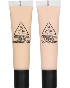 Stylenanda_3CE_LIQUID FOUNDATION 看著我永恆妝彩粉底液